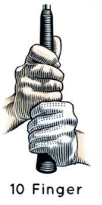 10 Finger Golf Grip Vs. The Interlocking Grip – Which Is Best?