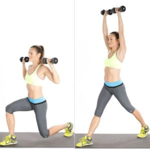 Lunges And Shoulders