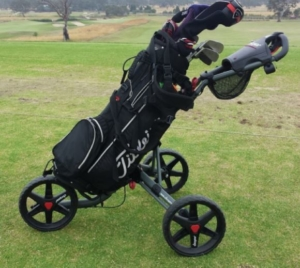 Golf Push Cart Image
