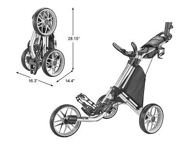 CaddyTec Push Cart