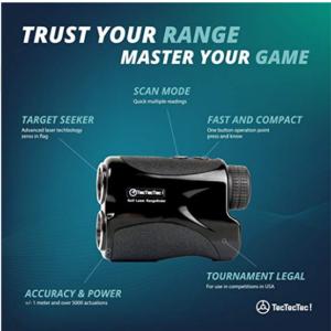 TecTecTec VPRO500 Golf Rangefinder3