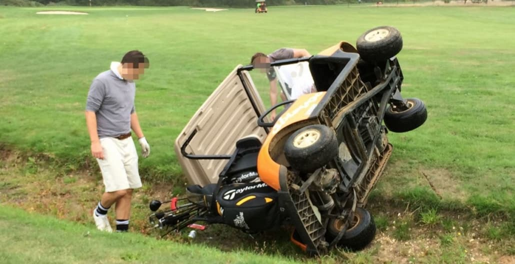 Golf Buggy Accident