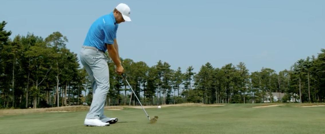 Golf Iron Hit