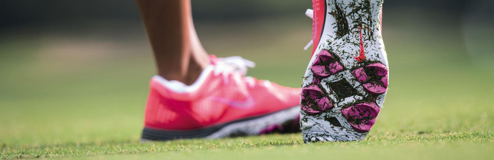 Nike Womens PInk Golf Shoes