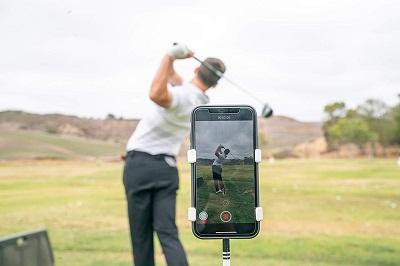Selfie Golf Swing Recorder