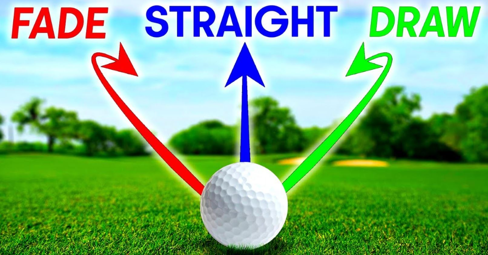 efecto a la bola de Golf
