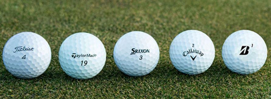 Golf Balls compressed
