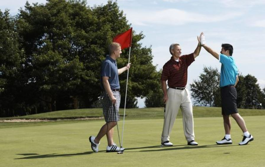 Golf Happy Golfers