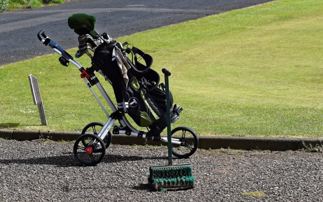 Golf Push Cart Review