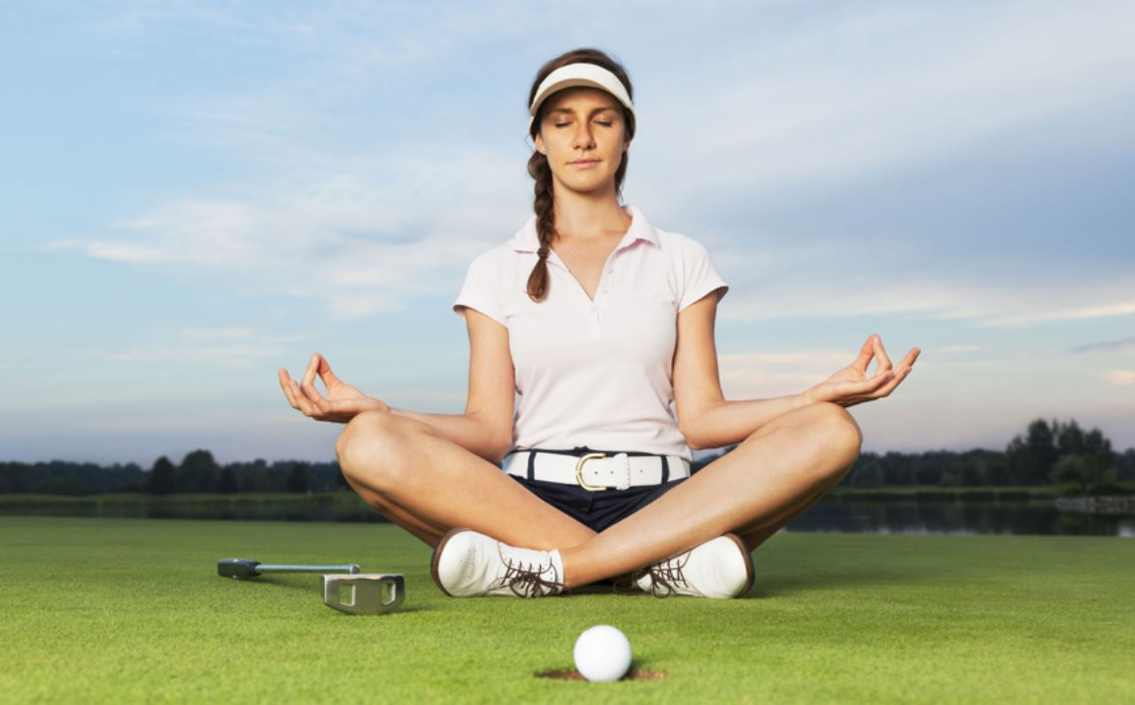 Golf Relieves Stress