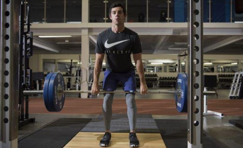 Mcilroy Weight Training 2