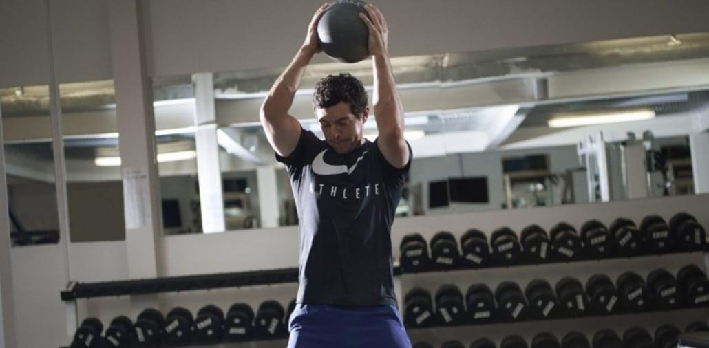 Mcilroy Weight Training 3