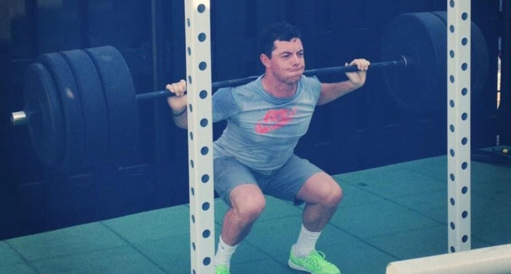 Mcilroy Weight Training 5