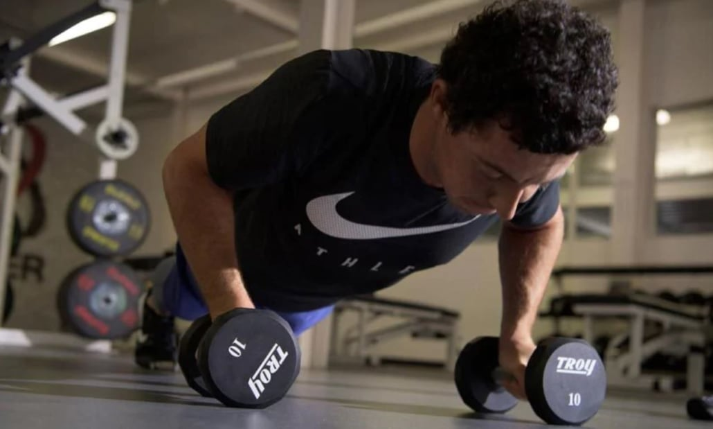 Mcilroy Weight Training 6