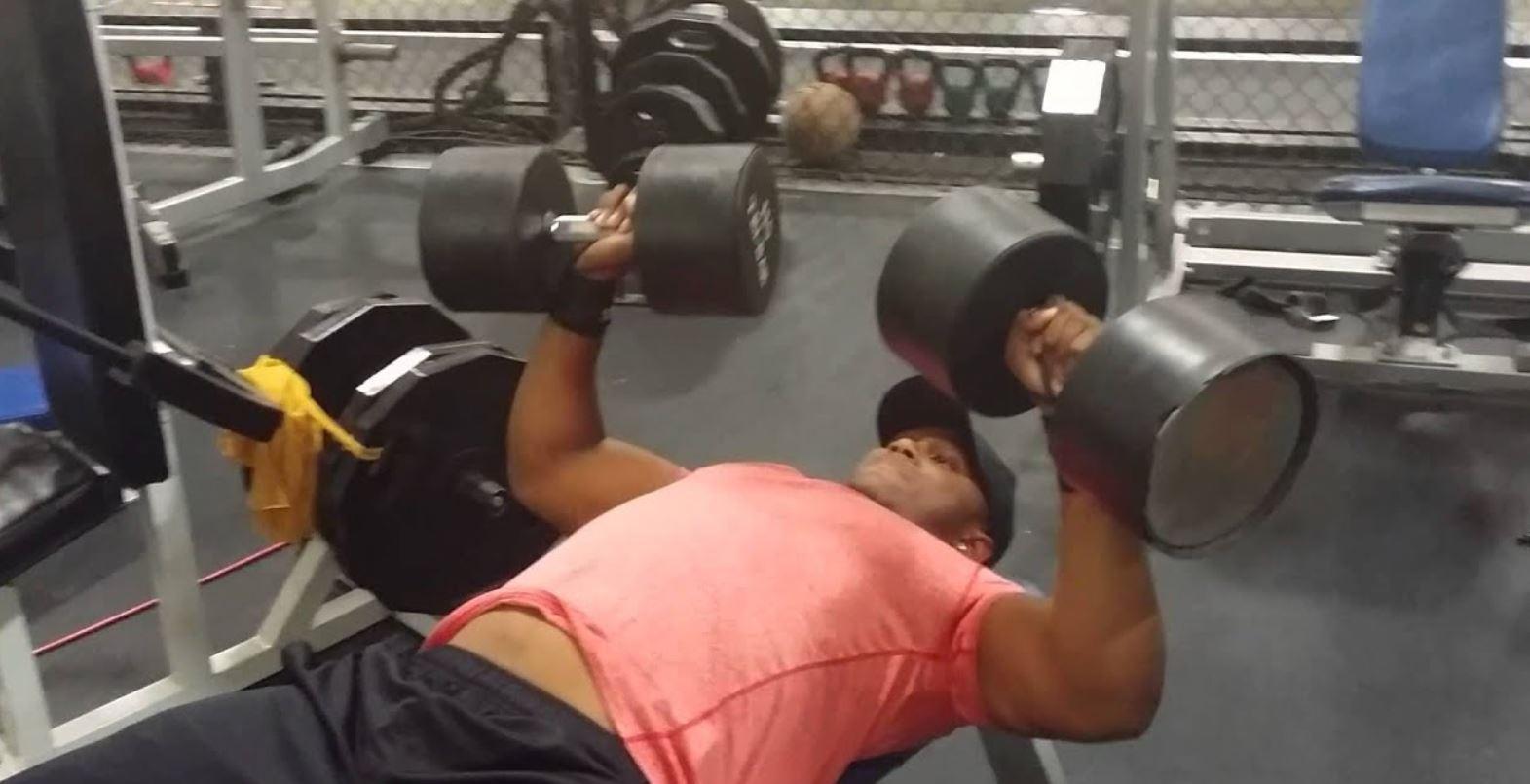 Tiger Woods Weight Training 5