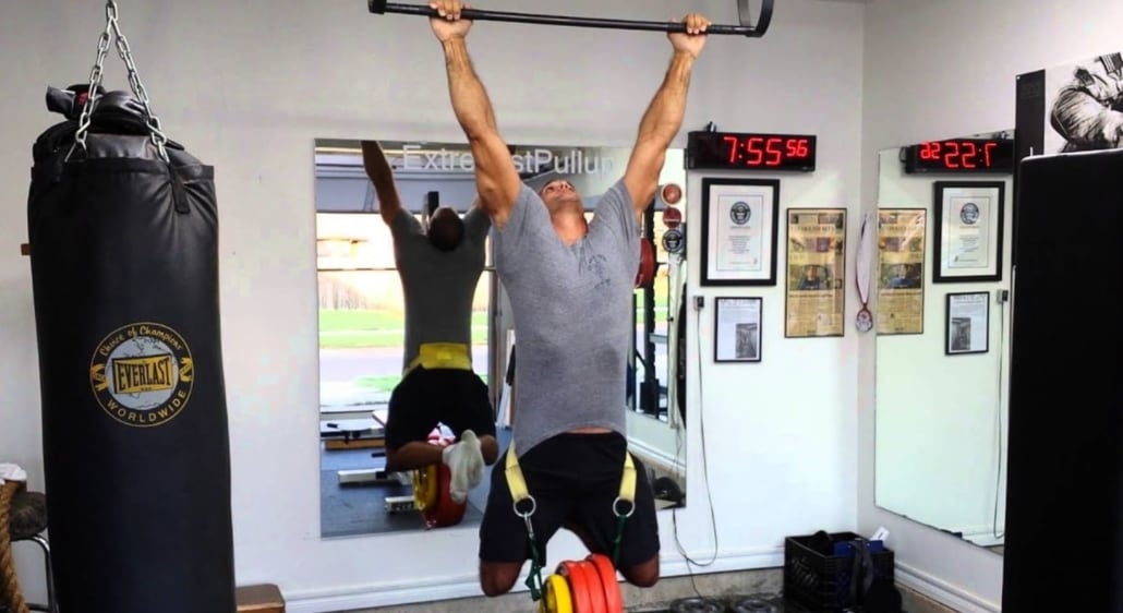 Weighted Pull Ups For Boxing